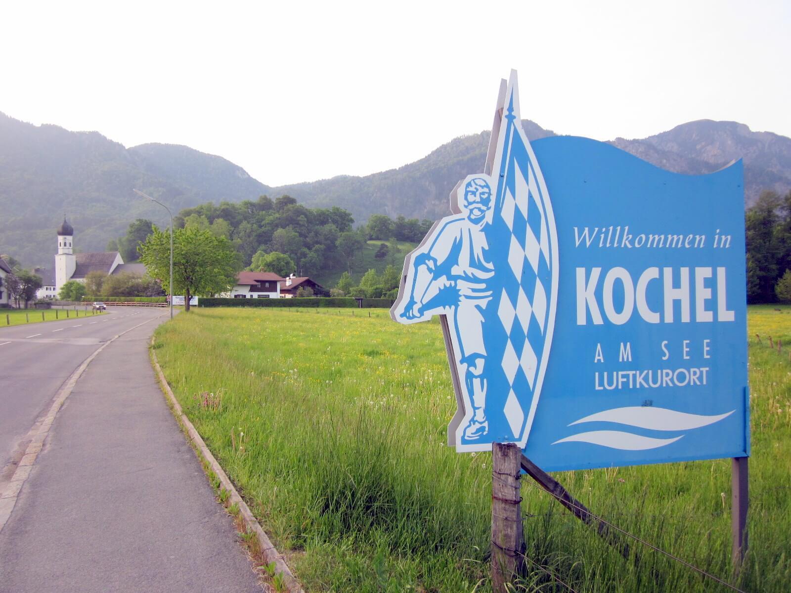 Wegbilder Kochel a. See
