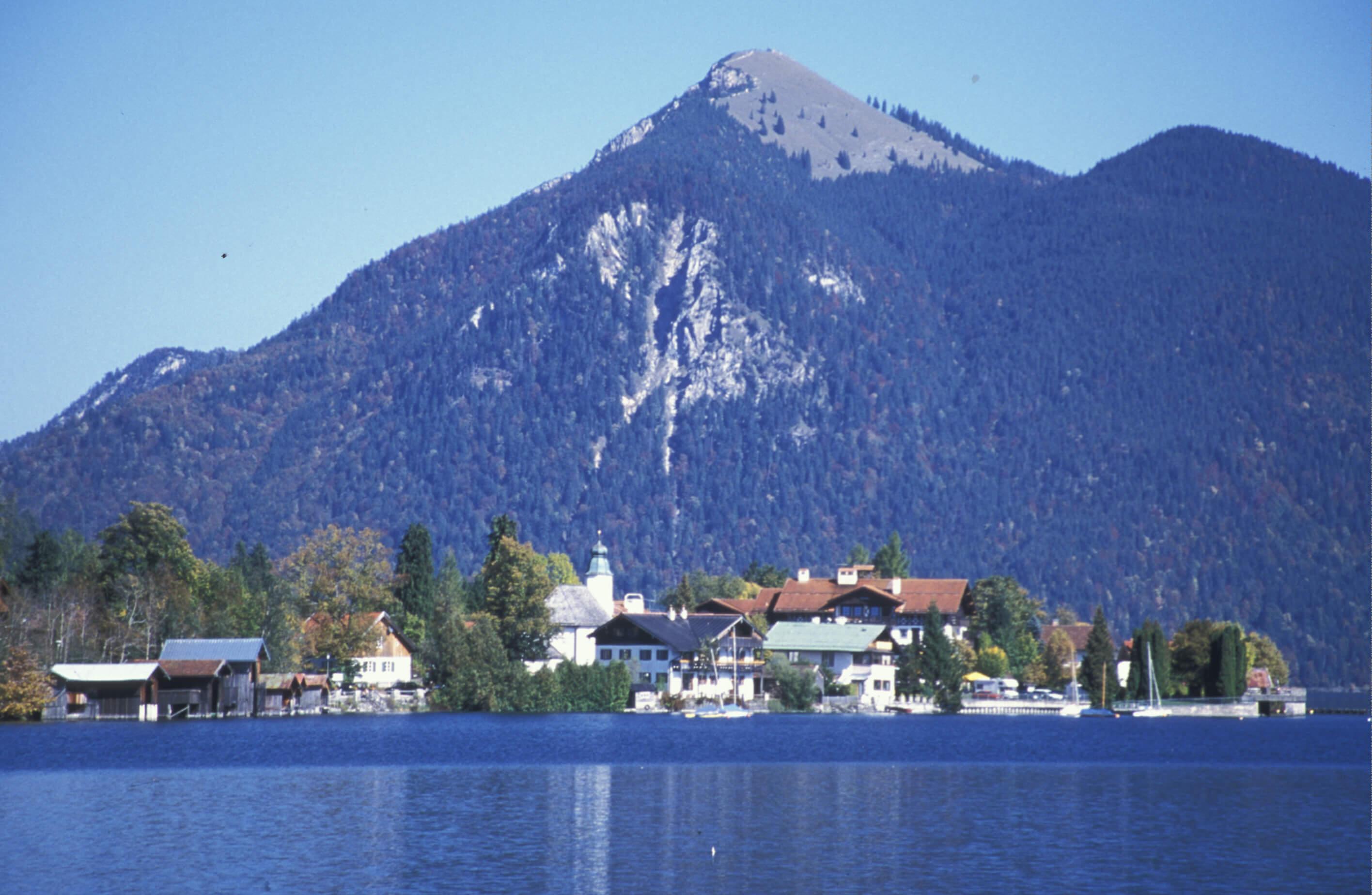 Wegbilder Walchensee